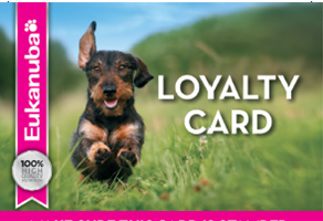 eukanuba loyalty card